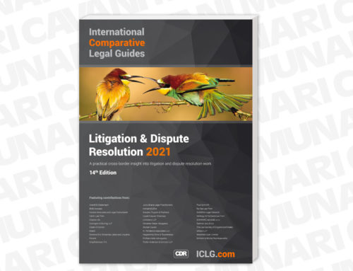 Munari Cavani ICLG – Litigation & Dispute Resolution 2021: Promotional Guidelines